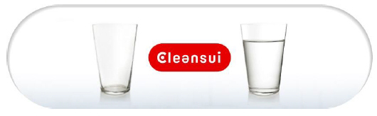 Cleansui equals clean water
